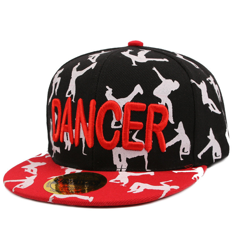 Baseball cap dancer logo