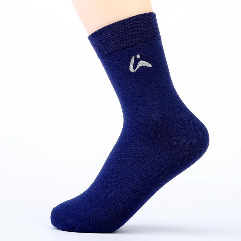Gentleman Socks Tube Socks Business Men Socks Comfortable and Breathable