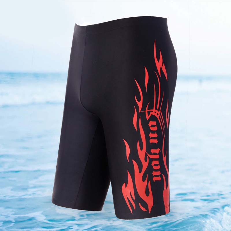 Low waist fifth swimming trunks