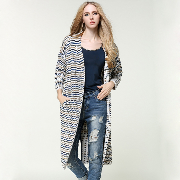 Women's Open-Front Cardigan